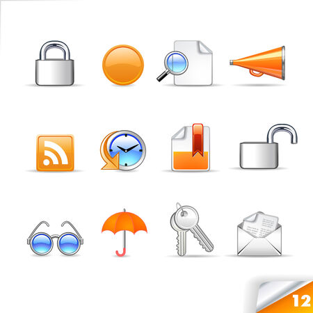 icon set 12   Web Illustration