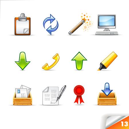 icon set 13 Office