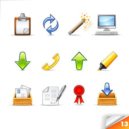 icon set 13 Office