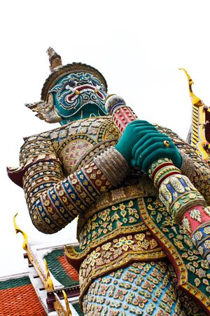 Giant statue of Grand palace Bangkok, Thailand