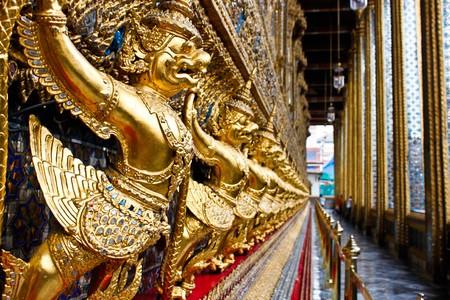 Garuda statue of Grand palace Bangkok, Thailand Stock Photo - 7352513