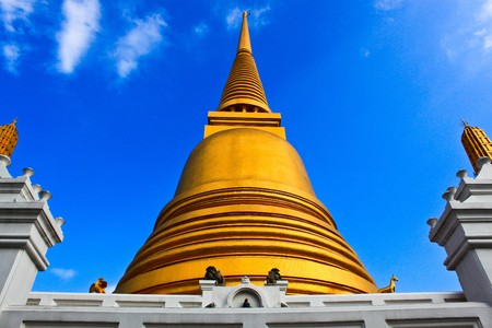 Temple of Bangkok, Thailand Stock Photo