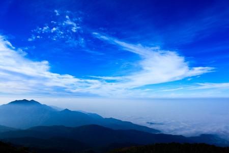 Sky on top of mountain Stock Photo - 7380739