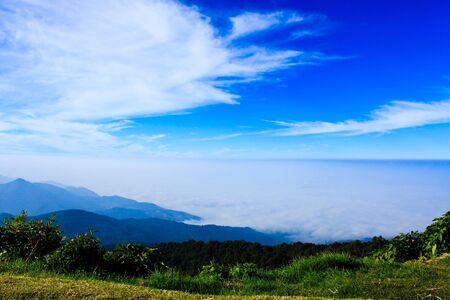 Sky on top of mountain Stock Photo - 7380742