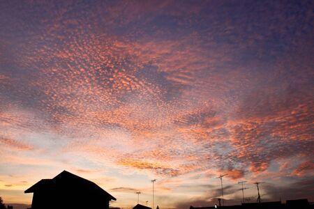 Eveing sky Stock Photo