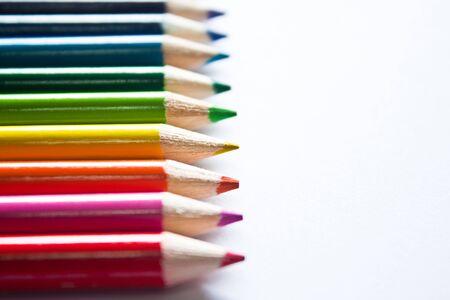 colored pencils. Stock Photo
