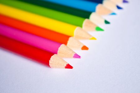 colored pencils. Stock Photo