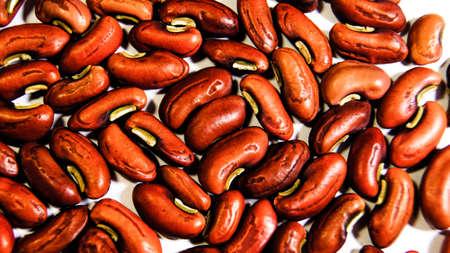 Macro Beans Stock Photo