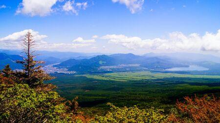 Landscape of mountain Stock Photo