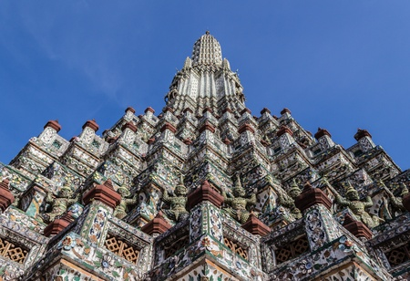 Temple of the Dawn is one of the best known landmarks and one of the most published images of Bangkok