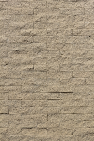 The wall was constructed by sand stone materials  Sand stone bricks pattern  Stock Photo - 14483700