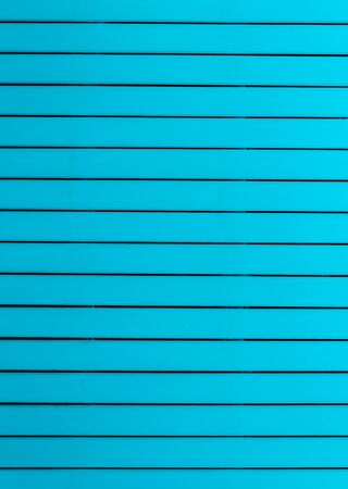 Wood background in horizontal pattern,  turquoise color