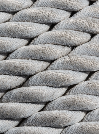 Old nautical rope, close-up as nautical background and texture Stock Photo - 16465609