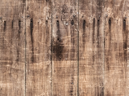 Weathered wood texture background in vertical pattern, natural color  photo