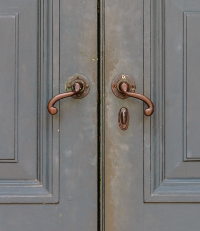 Old-Fashioned Bronze Handles photo