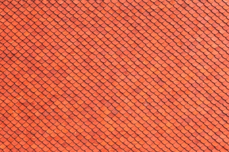 Brown Tile Pattern, Oriental Style, Seamless Background Stock Photo