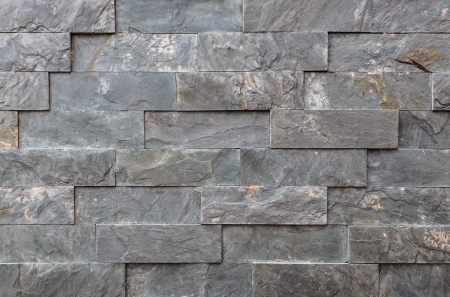 Natural Granite Bricks Wall pattern photo