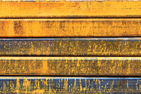 Rusty steel Bars, Closeup photo
