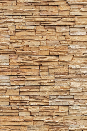 Brown Brick Textures and Background, Closeup in Vertical Pattern