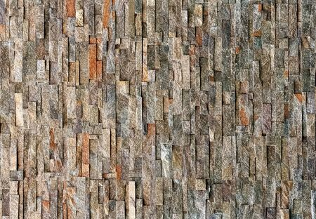 Stone Wall Background in Natural Color