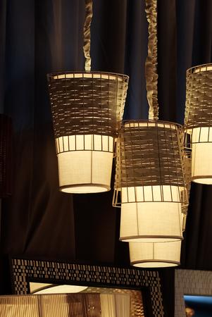 Decorative Hanging lamp, Closeup photo