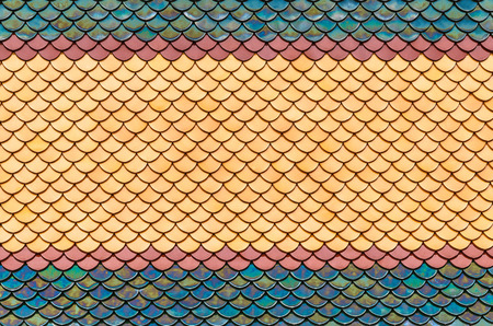 Colorful Tile Pattern, Oriental Style, Seamless Background