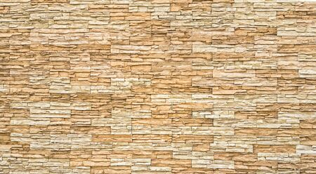 beige: Brown old bricks wall Background, Natural color.