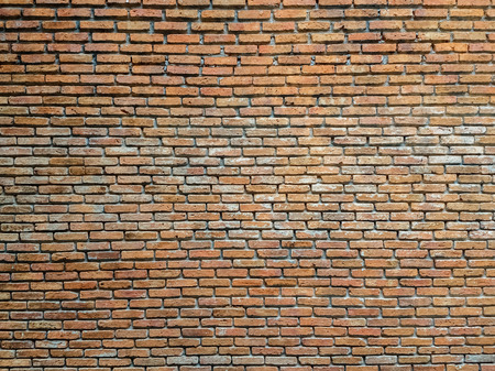 Weathered Brown Brick Wall Background Stock Photo