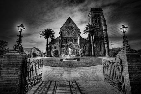 Old Australia church Stock Photo