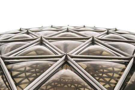 Fuera de las grandes Dome estructura  Foto de archivo