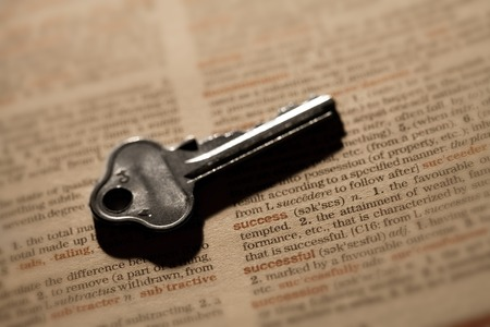 definition define: Key to success - macro of key on dictionary