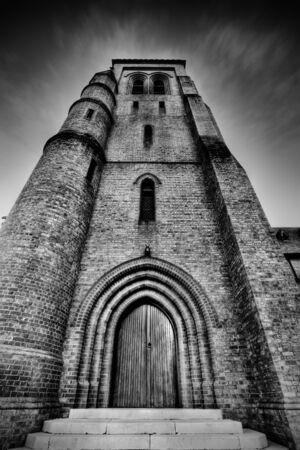 Dark and stormy church Stock Photo - 2966677
