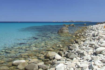 rei: The Cala Pira beach in Costa Rei, Sardinia