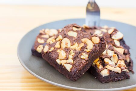 brownies: Chocolate and Almond Brownies