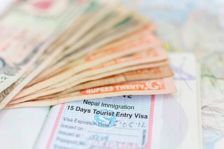 nepali: Nepal Immigration Visa for tourism and Nepali Notes