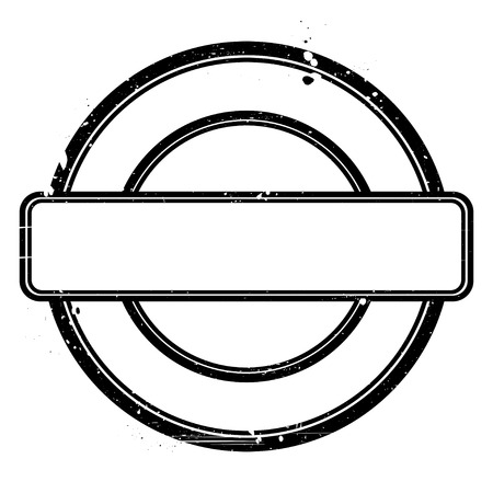 proved: Nero grunge timbro su bianco Abstract illustrazione vettoriale