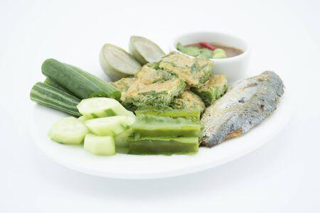 paste: Shrimp paste chili sauce Stock Photo