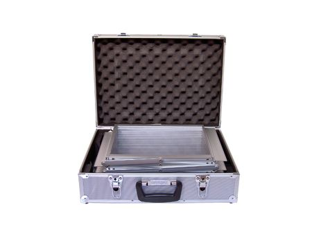 camera case box isolated on white