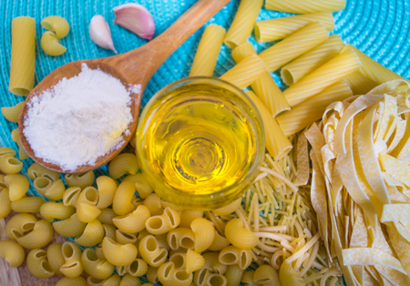pennie: mixed dried pasta selection