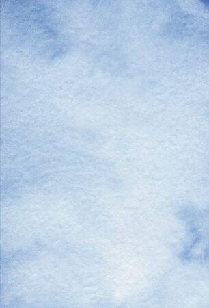 Watercolor blue abstract texture Hand drawn backgriund Foto de archivo - 134590273