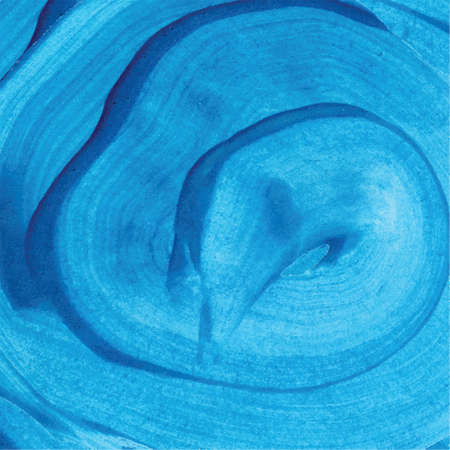 Abstract blue watercolor background hand drawn illustration