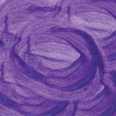 Abstract violet watercolor background hand drawn illustration Imagens