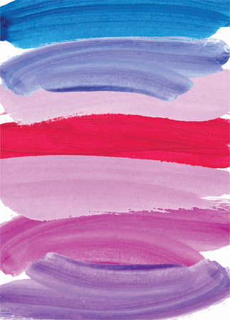 Abstract hand painted watercolor brush stroke background.