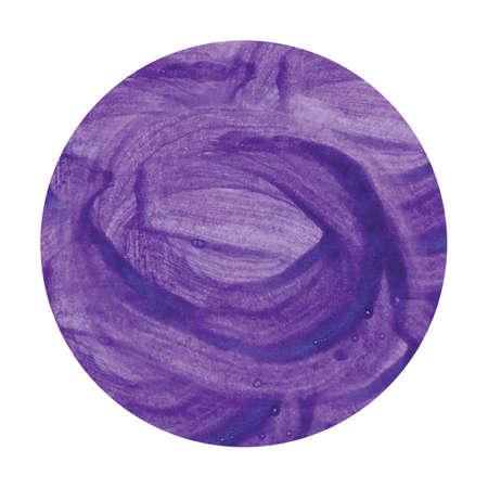 Abstract violet watercolor background hand drawn illustration Ilustração