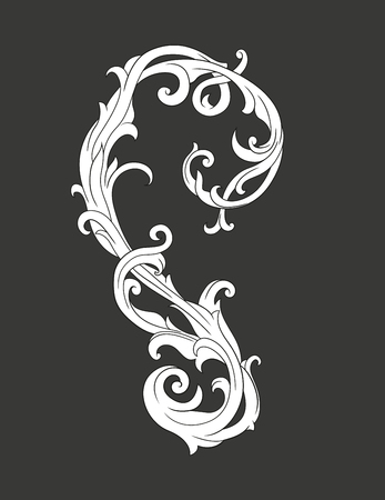 Vector elements. Curls and scrolls for design and decoration.