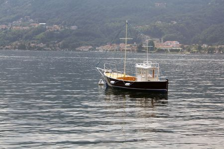 evocative: Solitary Boat