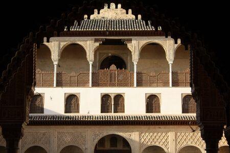 foreshortening: Alhambras foreshortening Editorial