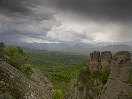Bulgarian wonders - a beautiful view - phenomenon of Belogradchik rocks