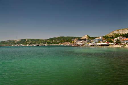 balchik: Balchik landscape-one famous Bulgarian resort