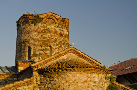11th century: St. John The Baptist church from the 11th century in Nesebar, Bulgaria